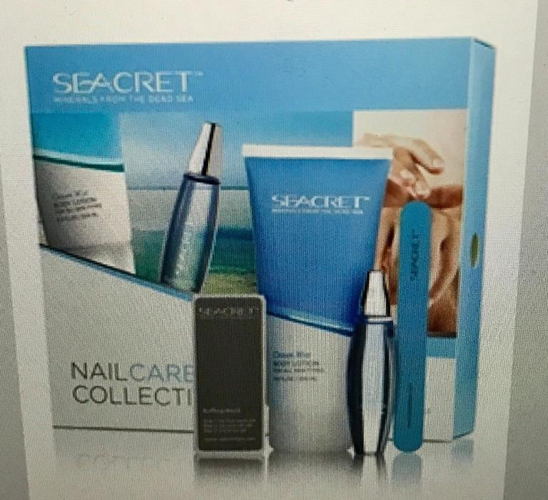 Seacret Nail Care Collection