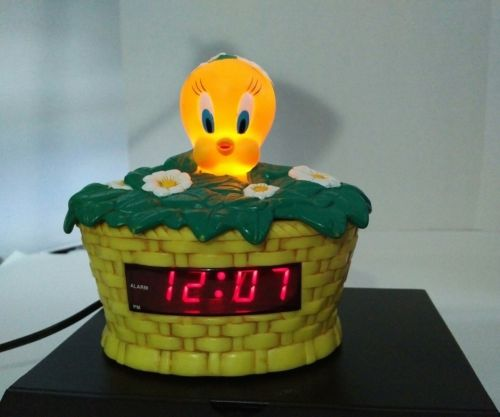 Tweety Bird Alarm Clock