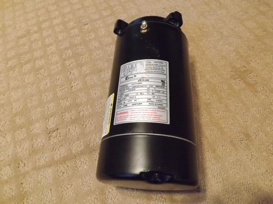 1hp pool pump motor for sale classifieds for Hayward sp2607x10 replacement motor