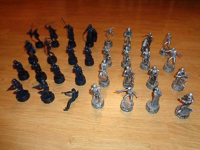 STAR WARS CHESS SET 30 PIECES NO BOARD REPLACEMENT CHEWBACCA YODA CAKE TOPPERS