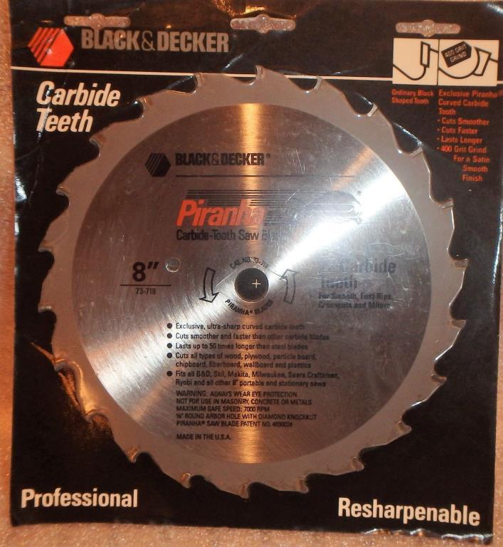 BLACK & DECKER 8