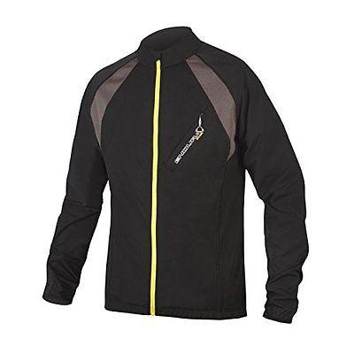 Endura  Men's MT500 Full-Zip II Long Sleeve Cycling JerseyE3092 (Black...