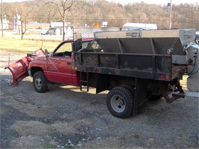 1994 Dodge 3500 Dump Bed Truck