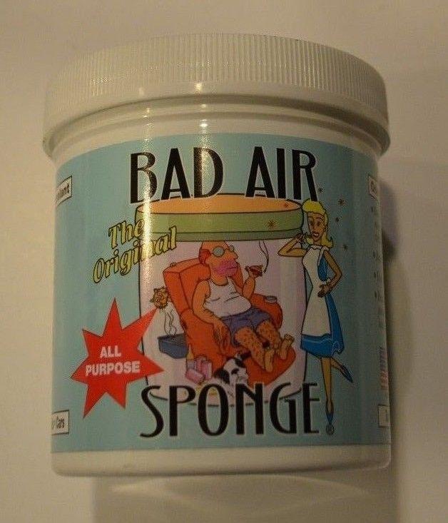 The Original Bad Air Sponge Odor Absorber and Neutralant 14oz