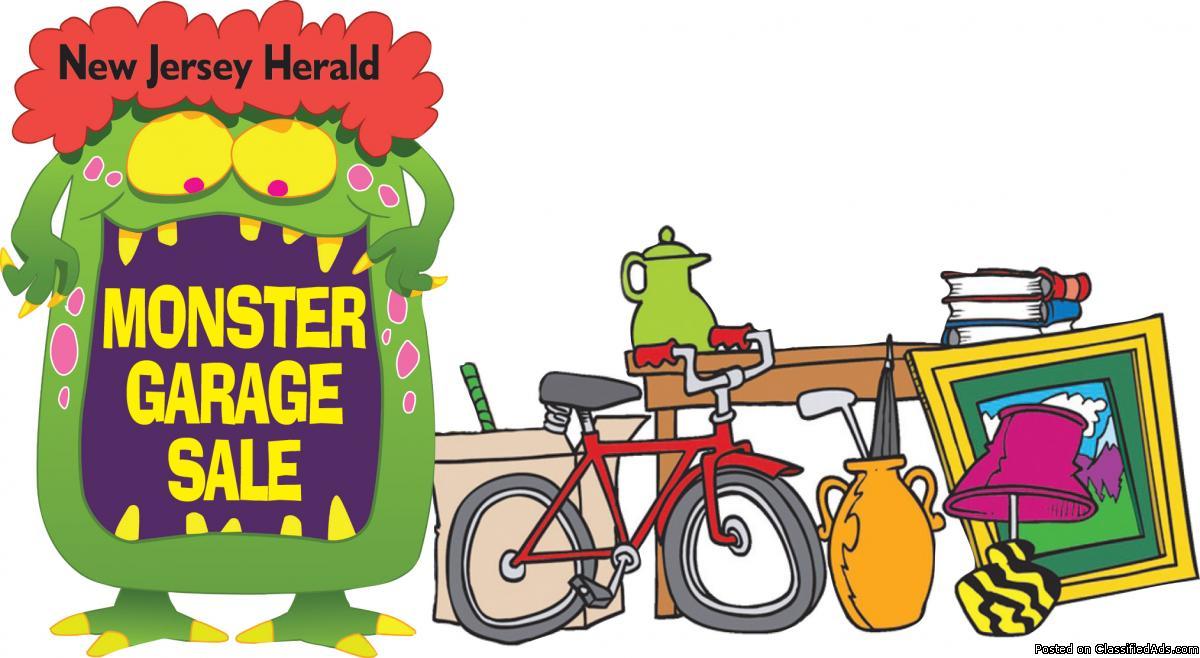 New Jersey Herald's Monster Garage Sale!