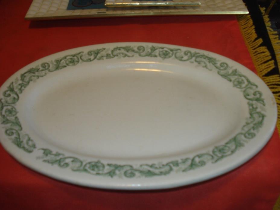 J. & G. Meakin Oval Restaurant Ironstone Plate