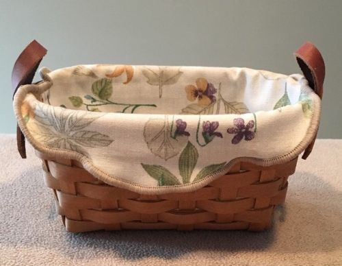 Longaberger 2005 Horizon of Hope Basket with Fabric Liner Great!