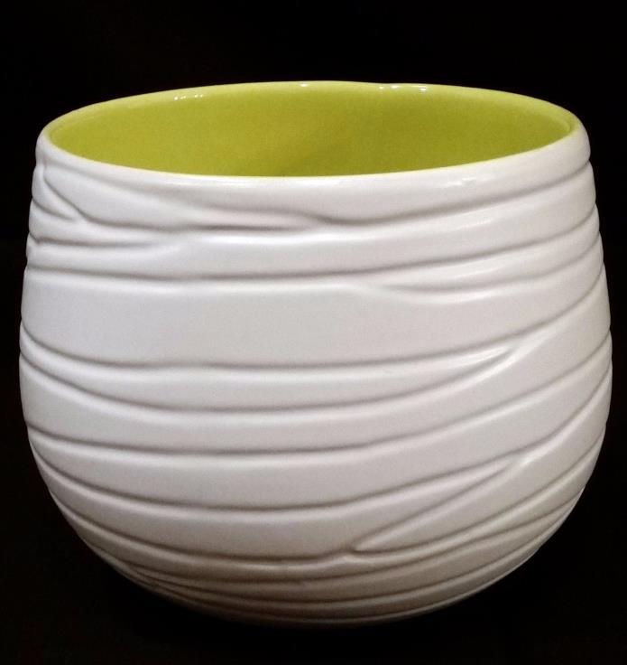 TAHARI HOME Vase // Contemporary Earthenware - Excellent Condition!