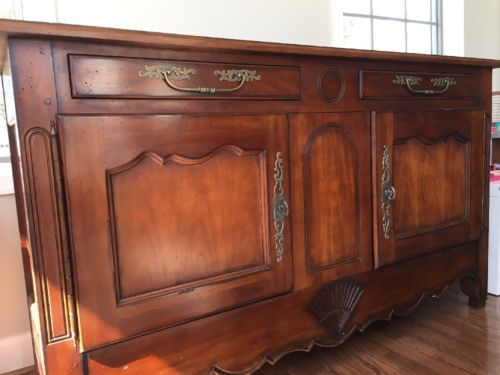 Drexel Heritage Cherry Dining Buffet Sideboard