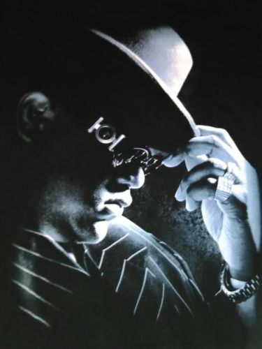 Rare HTF Notorious B.I.G. Big T Shirt Size L 2000s rap shirt VGC