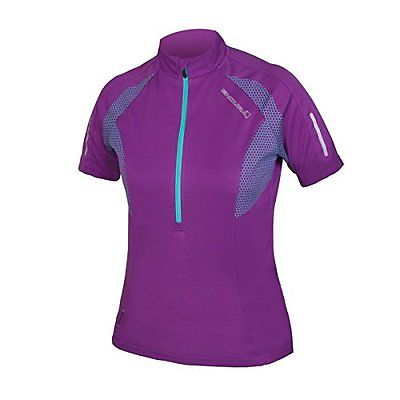 Endura Xtract SS JerseyWomen's Lilac bike new cycling