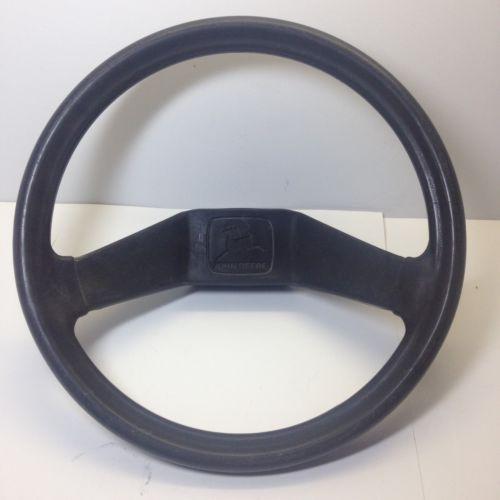 John Deere STX38, STX30 Yellow Deck Steering Wheel P/N AM121918