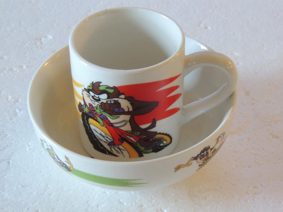 Gibson Looney Tunes  Cup Bowl Set Mug WARNER BROS