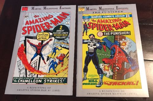 The Amazing Spider-Man Reprints of Issues 1 and 129