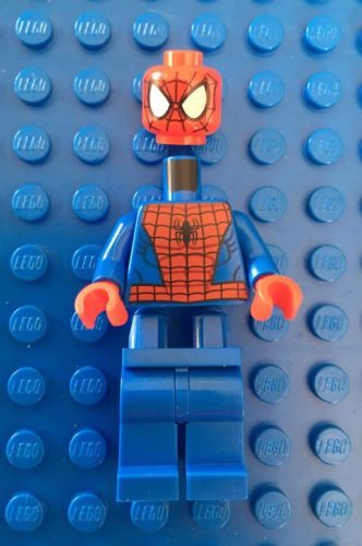 Authentic LEGO Spider-Man from 76016 Spider-Helicopter Rescue Set UNUSED