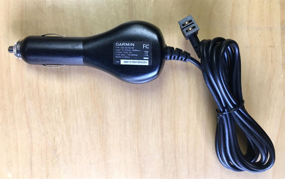 Genuine OEM GARMIN DC-30 GPS Dog Tracking Collar Car Charger 12V Adapter Tested!