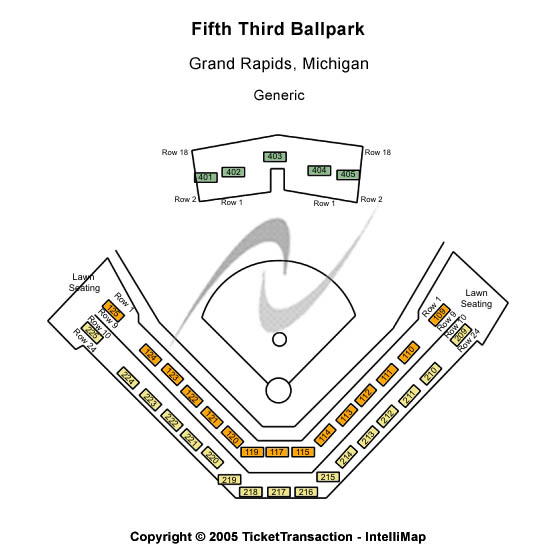Tickets for West Michigan Whitecaps vs. Kane County Cougars at Fifth Third