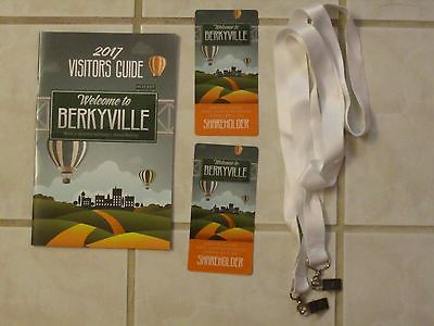2) 2017 BERKSHIRE HATHAWAY ANNUAL SHAREHOLDERS MEETING CREDENTIALS & GUIDE BOOK