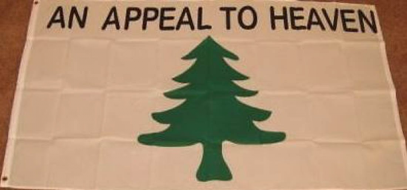3'X5' An Appeal To Heaven Flag Liberty Tree