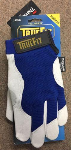Tillman 1485XL XL Blue Gray TrueFit Cold Weather Gloves