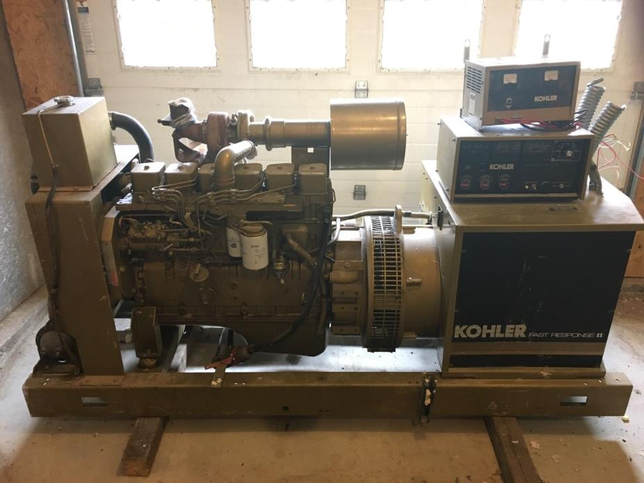 Kohler Generator Cummins Deisel 75kw