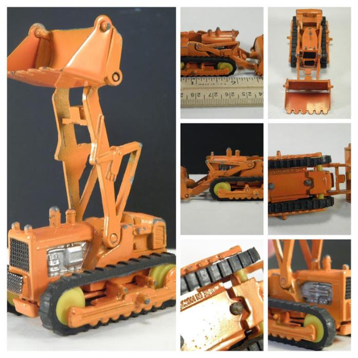 VTG Mini Dinky Mercury? Toy International Skid Shovel Dozer Bulldozer Hong Kong