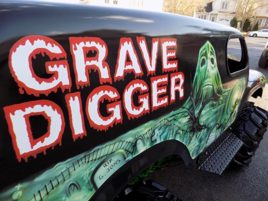 GRAVE DIGGER , Carter Bros. Go-Kart. Original + Complete