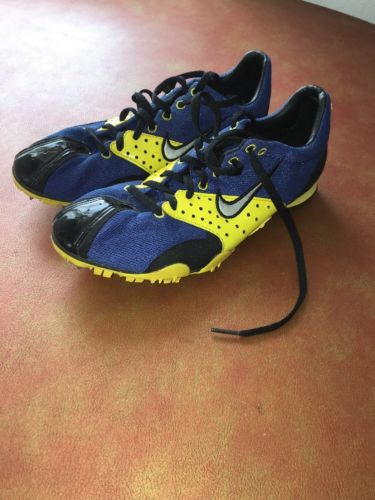 Nike Track Spikes Bowerman Series Spiked Running Shoes Race Runners Mens 8.5 US