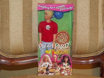 1994 Mattel Pizza Party Kevin Pizza Hut & Pepsi Barbie #12944 NRFB