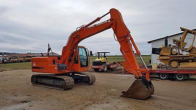 2009 Terex TXC140 LC-2 Excavator w/ Hydraulic Thumb Diesel Rubber Track Hoe Cab