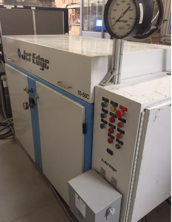 Waterjet with Hydraulic Jet Edge pump