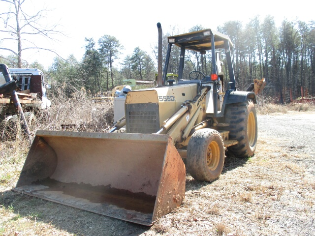 1996 FORD 555D Backhoe Loaders