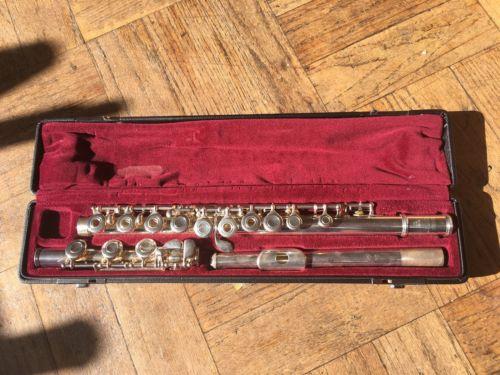 Yamaha Silver 461 II 925 Intermediate Flute