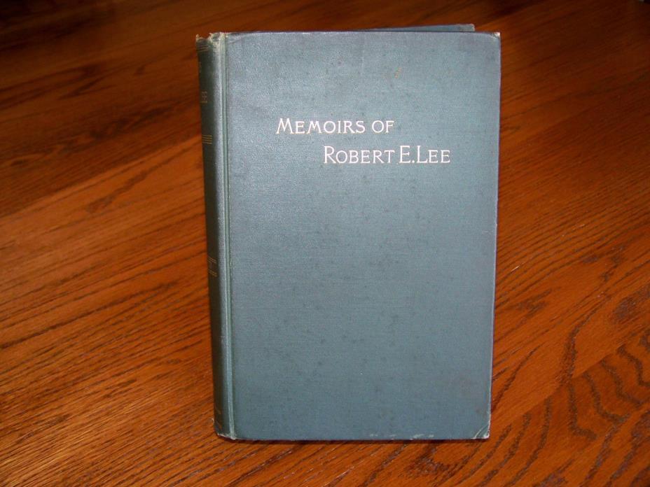 Memoirs of Robert E. Lee, by A.L. Long, 1886 J.M. Stoddart, First Edition RARE