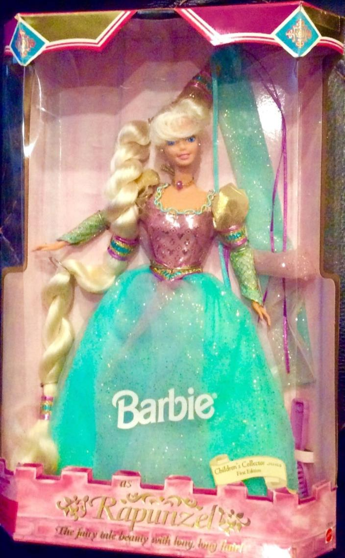 Barbie as Rapunzel 1994 Doll   NEW    NIP