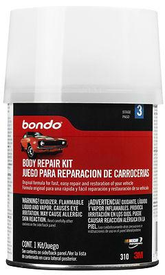3M COMPANY Auto Body Repair Kit, 1-Pt.
