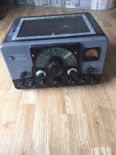 Johnson Viking Transmitter