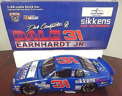 Action Dale Earnhardt Jr. #31 Sikkens Car Refinishes 1997 Monte Carlo 1:24 Scale