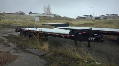 2001 TCE Flatbed Trailers