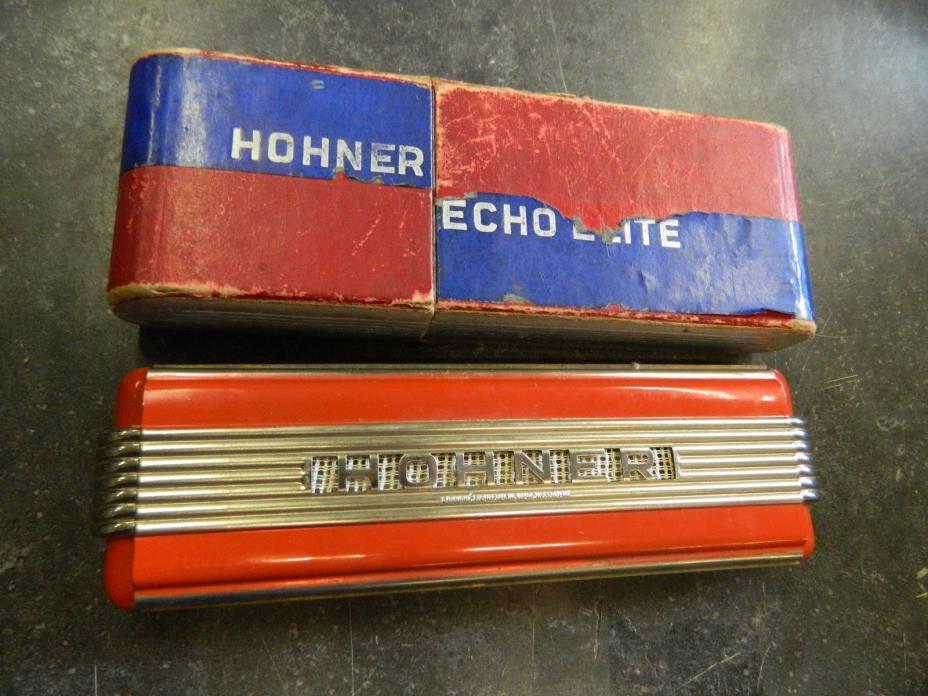 Vintage Hohner ECHO ELITE  Harmonica
