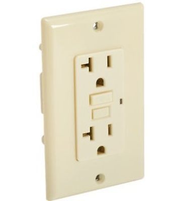 20 Amp GFCI Ivory, Package Of 12