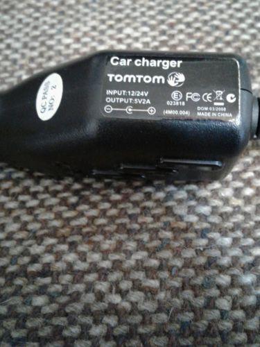 Genuine Original TomTom car charger.