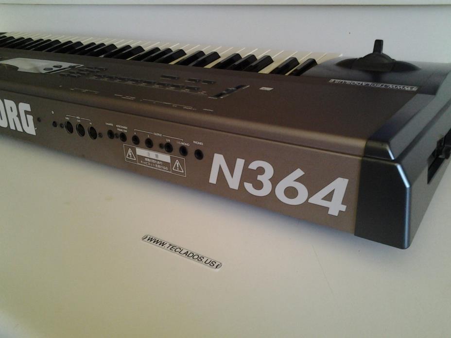 Korg N364 Synthesizer Music Workstation #1 Fully Restored U.S.A Seller/WARRANTY