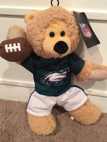 NFL LICENSED EAGLES PLUSH BEAR WITH EAGLES JERSEY FROM GOOD STUFF 13