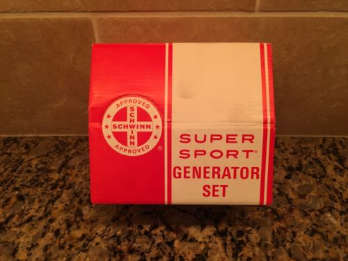Schwinn Super Sport Generator Set-Part No. 04 200
