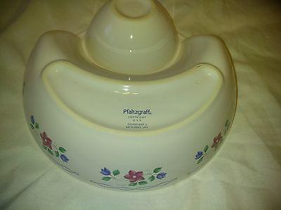 Pfaltzgraff Vintage Large   Chip & Dip Serving Bowl Dish  10?