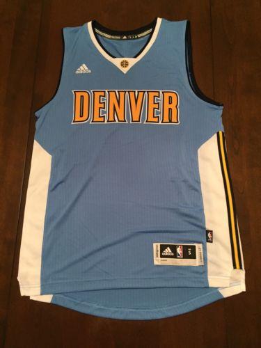 Denver Nuggets NBA Adidas Swingman Jersey (S)