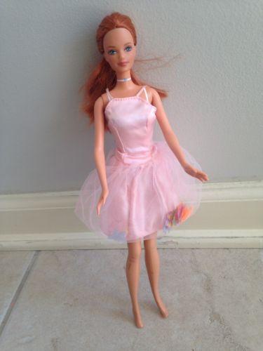 Mattel Barbie FRECKLED MIDGE DOLL Auburn Red Hair Happy Family