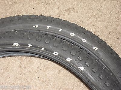 old mid school nos & used Tioga comp competition 3 20 in pair set bmx tires