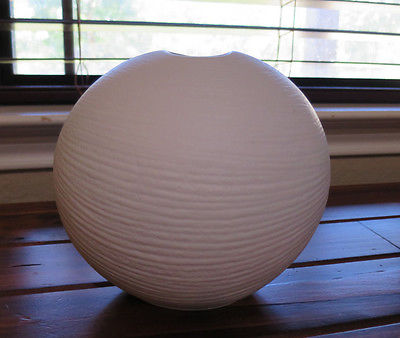 Rosenthal Studio Line Linie White Matte Porcelain Vase Germany 7